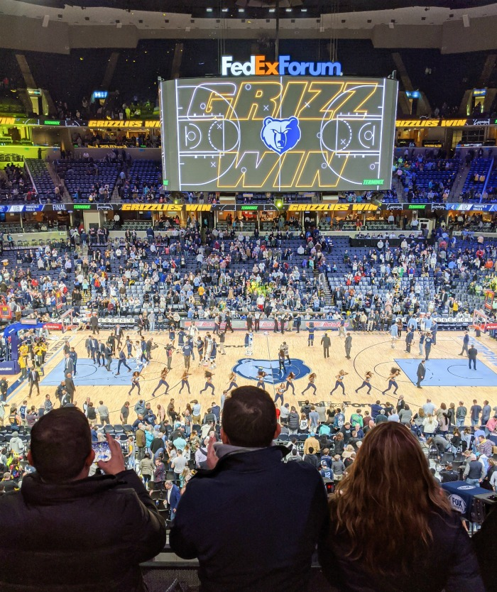 Memphis Grizzlies basketball   200 things to do in Memphis, Tennessee for first-time visitors - a local's guide #memphis #tennessee #grizzlies #memphisgrizzlies #nba