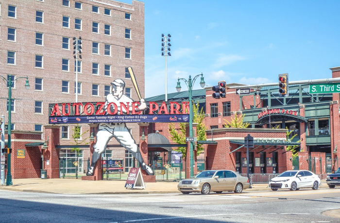 200 things to do in memphis, tennessee for first-time visitors, a local's guide | See a baseball game at AutoZone Park #memphis #redbirds #baseball #traveltips
