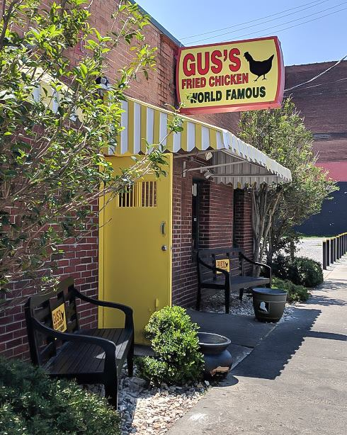 200 things to do in memphis, tennessee for first-time visitors, a local's guide   World Famous fried chicken from Gus's downtown #traveltips #memphis #friedchicken