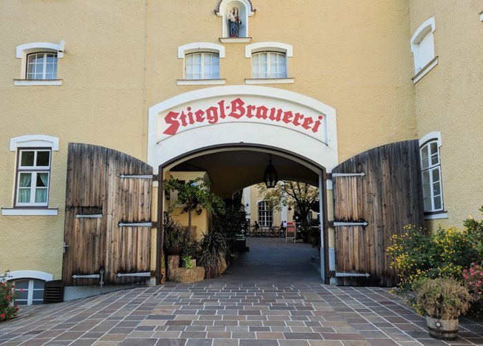 How to Squeeze in a Day Trip to Salzburg from Munich | Austria to Germany | Sound of music, mozart, castle, brewery, museums #salzburg #austria #thesoundofmusic #beer #mozart #daytrip #castle | Stiegl brewery