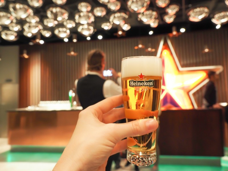 The Heineken Experience in Amsterdam | the Netherlands | Heineken Brewery | brewery tour | beer | Amstel | Brand | Affligem | Heineken 41 | beer tasting