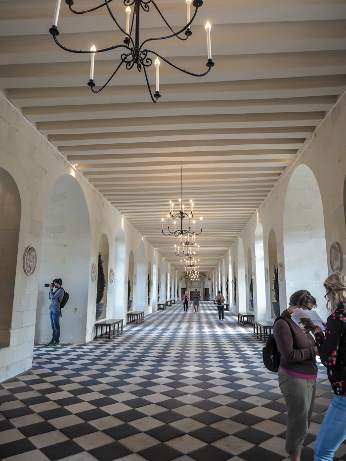 Inside a Loire Valley chateau - Chateau Chenonceau, France