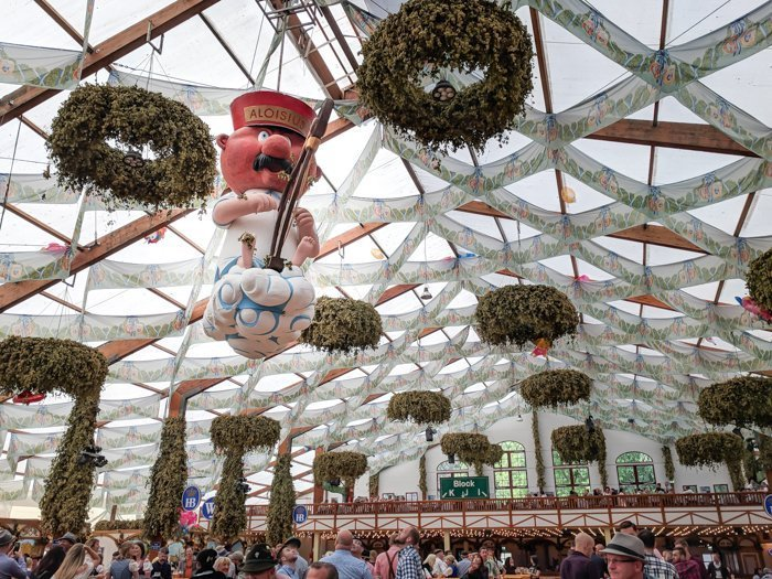 An Oktoberfest Tour Guide's Most Frequently Asked Oktoberfest Questions | Need to know Oktoberfest in Munich, Germany #oktoberfest #munich #germany #beer #festival | Aloisius, Hofbrau tent