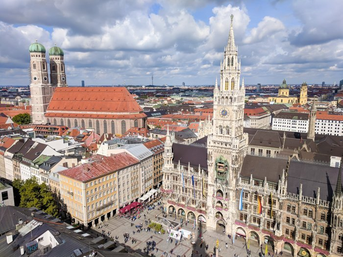 An Oktoberfest Tour Guide's Most Frequently Asked Oktoberfest Questions | Need to know Oktoberfest in Munich, Germany #oktoberfest #munich #germany #beer #festival | View of Munich
