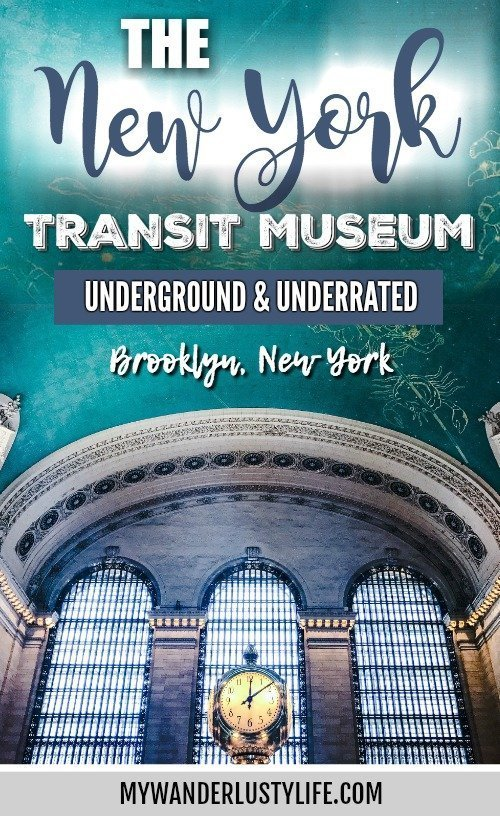 Brooklyn's New York Transit Museum // Underground and Underrated | The best New York City museum you've never heard of | New York City hidden gem | #NewYorkCity #museum #transitmuseum #brooklyn #nycmuseum #traveltip #timebudgettravel