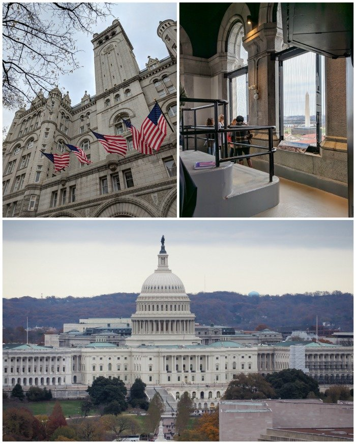 Old Post Office Tower, best views in Washington DC | A Jam-Packed 3 Days in Washington DC Itinerary for First Time Visitors | #washingtondc #timebudgettravel #USA