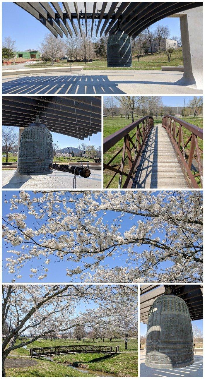 International Friendship Bell, Japan, United States | 7 Ways to Spend a Day in Oak Ridge, Tennessee | Manhattan Project | Atomic bomb | World War II | Department of Energy | Y-12, X-10 graphite reactor | #Oakridge #WWII #manhattanproject #tennessee