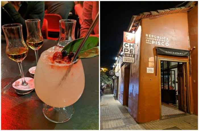 How to Spend One Week in Chile and Cover All the Bases   Pisco sampling at Chipe Libre in Santiago #chile #whattodoinchile #weekinchile #chipelibre #pisco