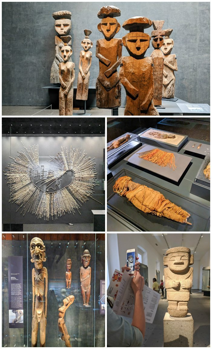 How to Spend One Week in Chile and Cover All the Bases | Exploring art and artifacts at the Pre-Colombian Art Museum of Chile #chile #santiago #whattodoinchile #weekinchile #art #artmuseum #precolombianart #easterisland