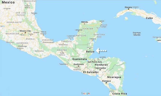 Get to know Belize | Where is Belize on a map of Central America? #Belize