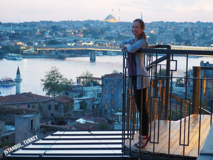 Ashley in Istanbul, Turkey