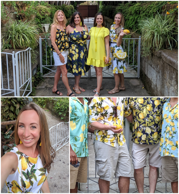 5 days in sorrento, italy | lemon outfits #sorrento #italy #lemons