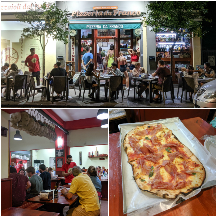 5 days in sorrento, italy | I pizzeria da franco #sorrento #pizza #italy