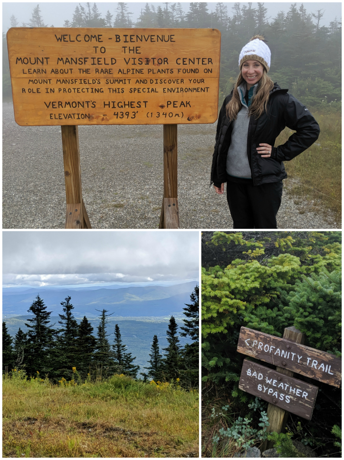 Hiking in the Green Mountains, Mount Mansfield | 11 Ways to Fill Your Days During a Weekend in Vermont | #vermont #stowe #newengland #greenmountains #hiking