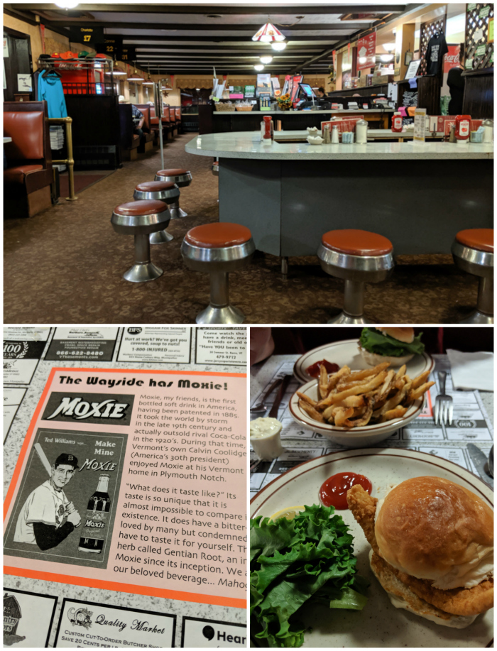 11 Ways to Fill Your Days During a Weekend in Vermont | Wayside Diner in Montpelier, VT #vermont #burlington #montpelier #newengland #diner
