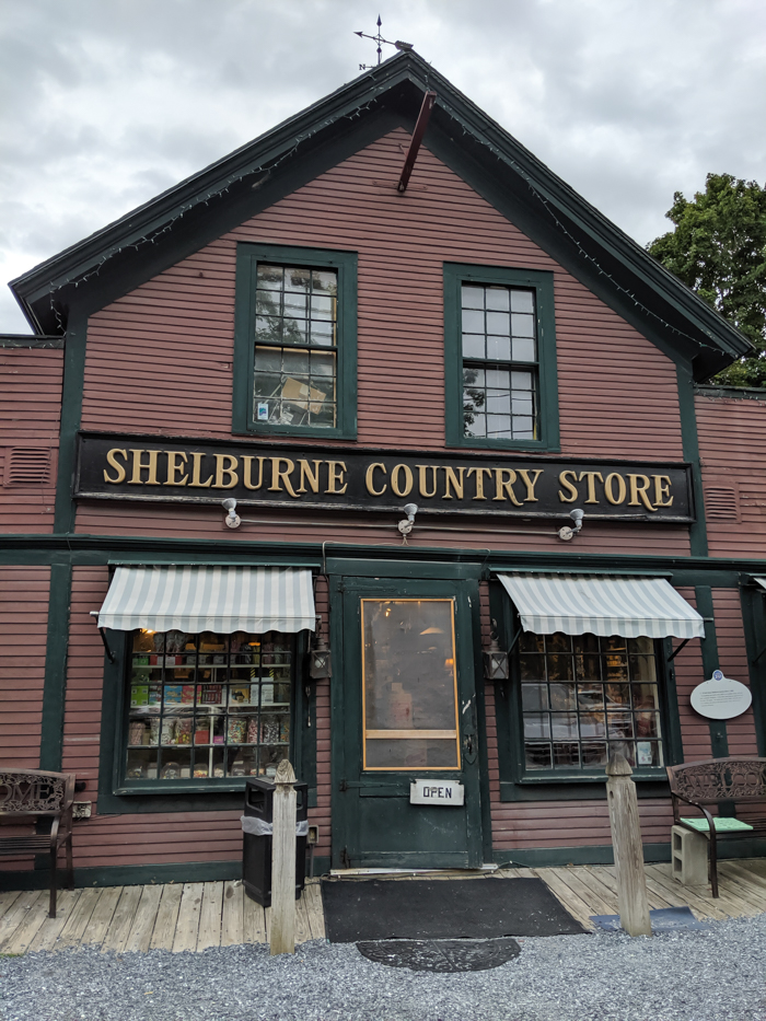 General store in Shelburne, VT   11 Ways to Fill Your Days During a Weekend in Vermont   #vermont #burlington #newengland