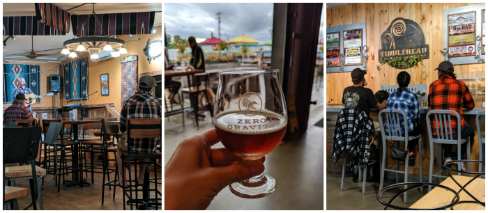 Stone Corral brewery, zero gravity brewery, fiddlehead brewery plus flannel | 11 Ways to Fill Your Days During a Weekend in Vermont | #vermont #burlington #newengland #flannel