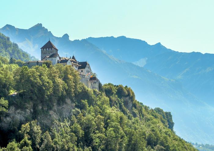 2 days in Liechtenstein   Vaduz Castle