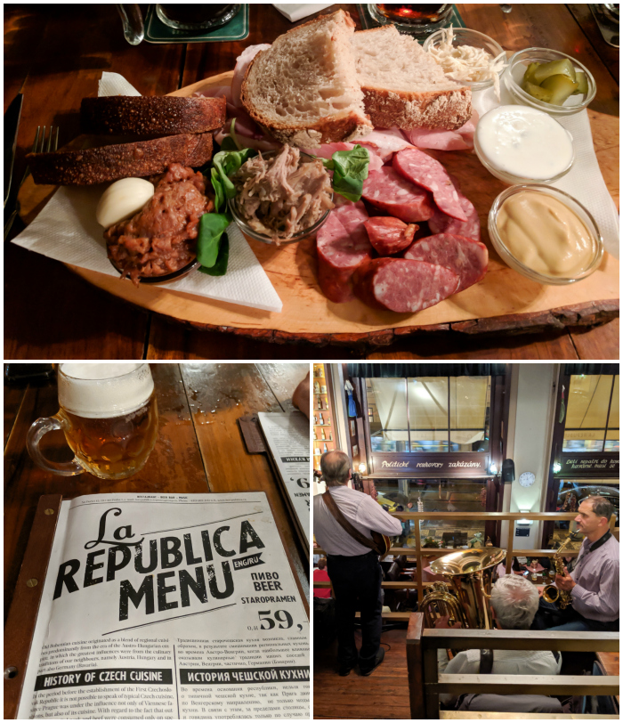 La Republica Restaurant for traditional Czech food | Cool Prague Experiences | Czech Republic / Czechia | Where to eat and drink in Prague, Prague travel tips