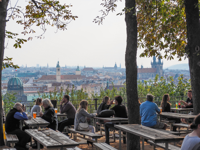 Letna Beer Garden | Cool Prague Experiences | Czech Republic / Czechia | Where to eat and drink in Prague, Prague travel tips