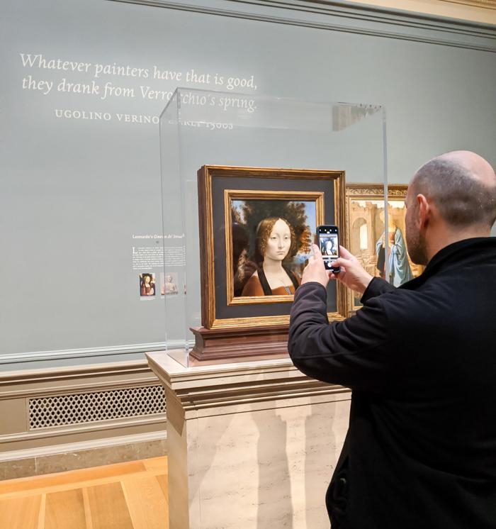 National Gallery of Art, da Vinci   Another long weekend in Washington, D.C.