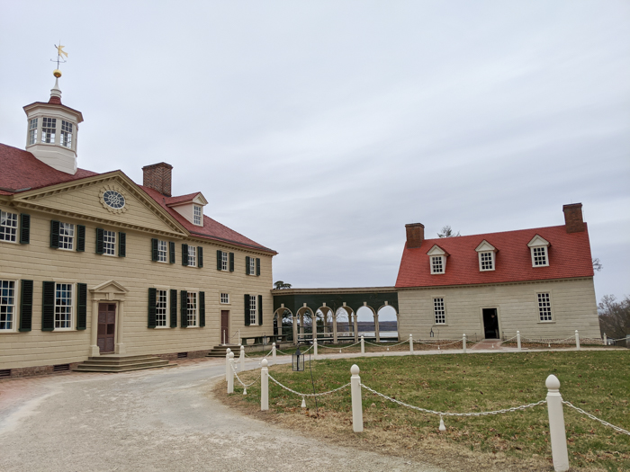 George Washington's house at Mount Vernon   Another long weekend in Washington, D.C.