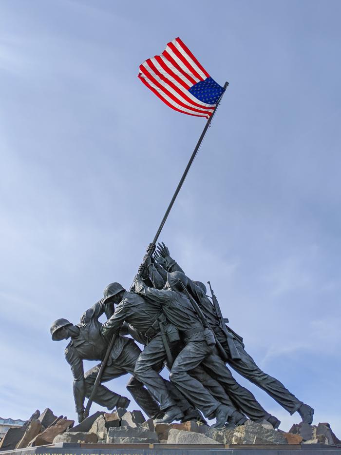 Iwo Jima statue / Marine Corps War Memorial   Another long weekend in Washington, D.C.