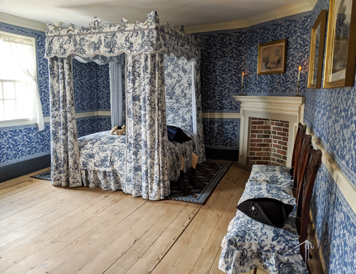 One of the bedrooms inside George Washington's house at Mount Vernon   Another long weekend in Washington, D.C.
