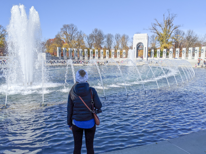 World War II memorial   Another long weekend in Washington, D.C.