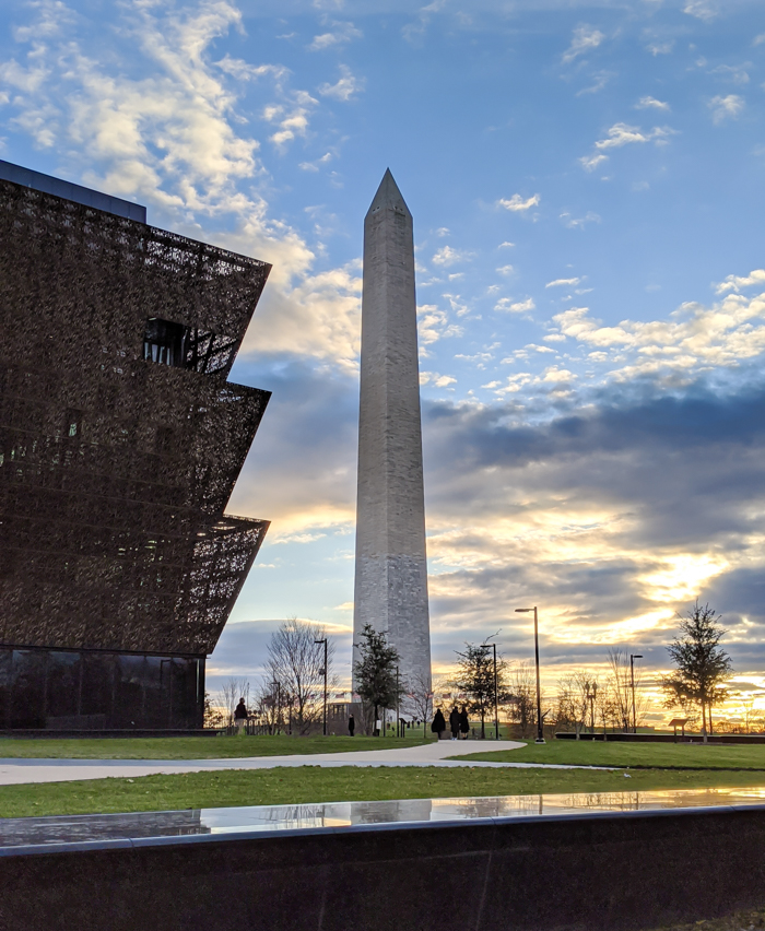 Washington Monument and Museum of African American History and Culture   Another long weekend in Washington, D.C.