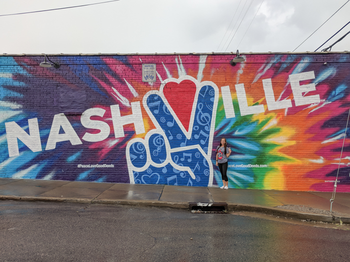 How to Spend a Weekend in Nashville If You Hate Country Music | Nashville, Tennessee | Nashville Peace Love and Good Deeds mural