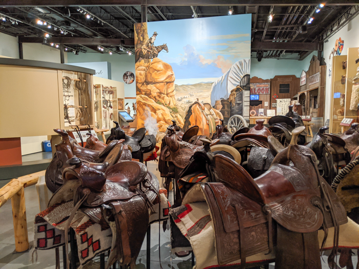 4 Days in Scottsdale, Arizona // A Jam-Packed Itinerary With a Bit of Everything | Things to do in Scottsdale: Western Spirit: Scottsdale's Museum of the West, saddle collection #scottsdale #museum