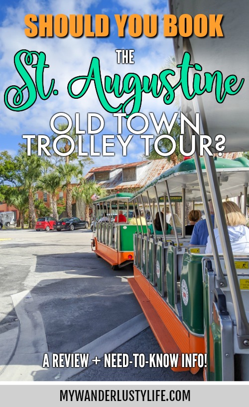 St. Augustine Old Town Trolley Tour Review and Tips / Things to know before you decide to take an Old Town Trolley Tour / St. Augustine, Florida #staugustine #florida #trolley #trolleytour #oldtowntrolley