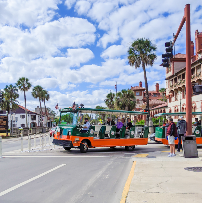 Should you Book the St. Augustine Old Town Trolley Tour? Check out this review + tips