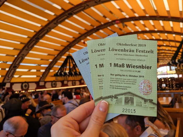 Food and drink vouchers / Must-Know Oktoberfest tips from an Oktoberfest tour guide and locals / what you need to know about oktoberfest in munich, germany