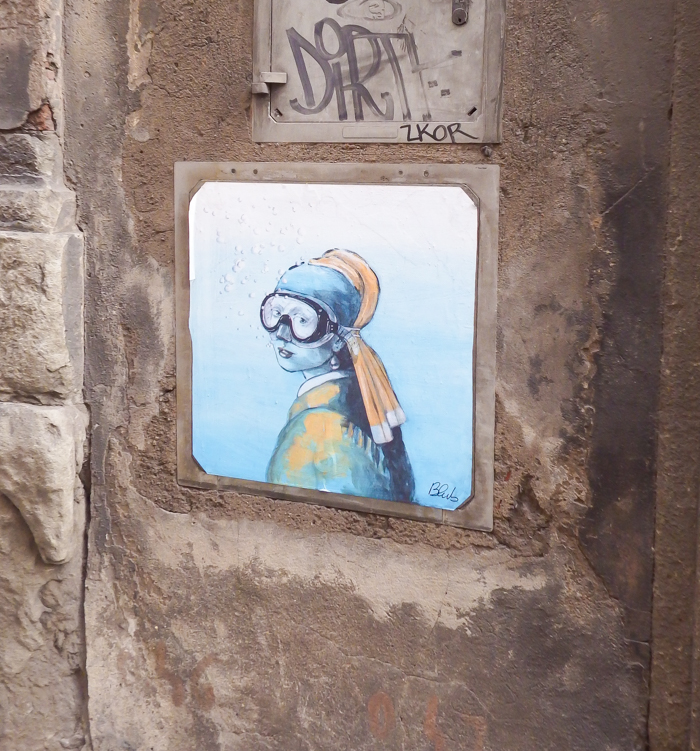 Blub street artist / 2 days in Florence, Italy