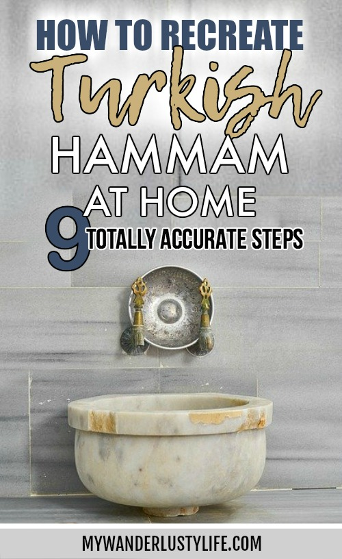 How to Recreate a Turkish Hammam at Home: 9 totally accurate steps / Turkish bath / Turkish hamam #turkey #hammam #hamam #turkishbath #spa