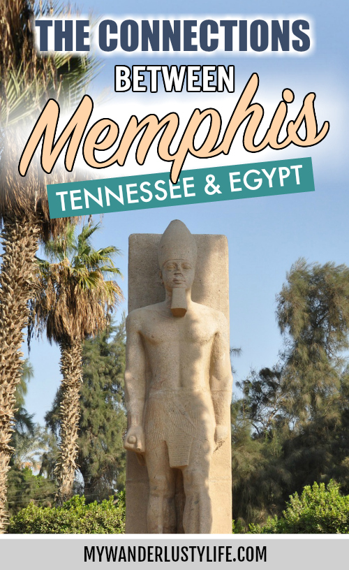 Memphis, Tennessee and Memphis, Egypt connections | What to see in Memphis, Egypt | Why is Memphis, TN named after Memphis, Egypt? #memphis #tennessee #egypt #pyramid #ramesses