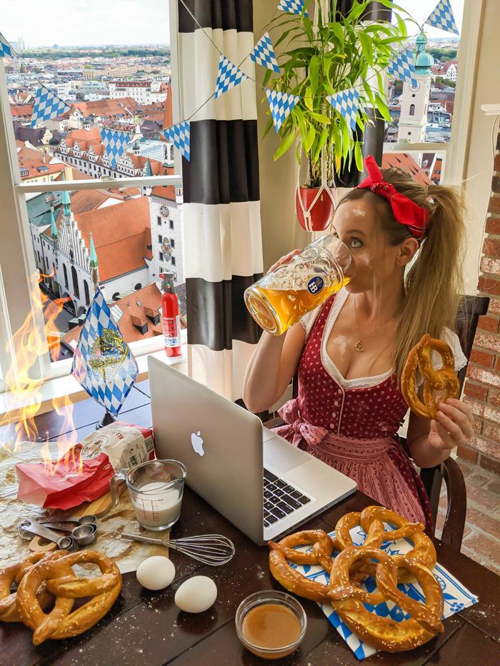 baking soft pretzels at home