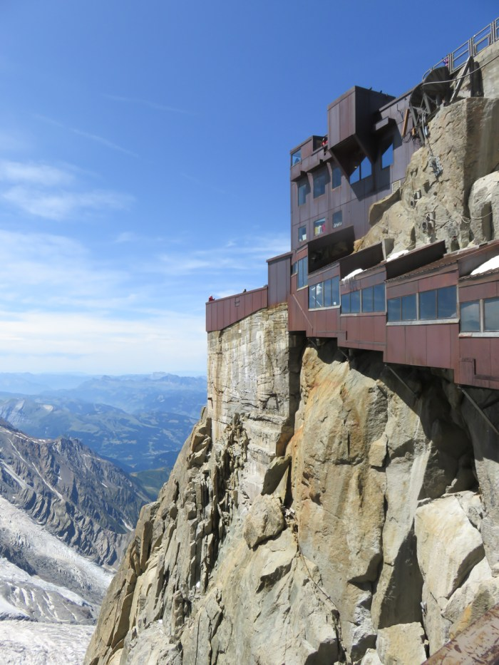 Aiguille du Midi summer visitor's guide, Chamonix, France: observation decks