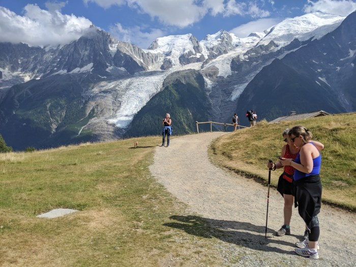 Awesome things to do in Chamonix in the summer: Alpine bucket list / Merlet Animal Park hikers