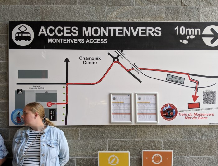 Awesome things to do in Chamonix in the summer: Alpine bucket list / Aiguille to Midi to Montenvers train map