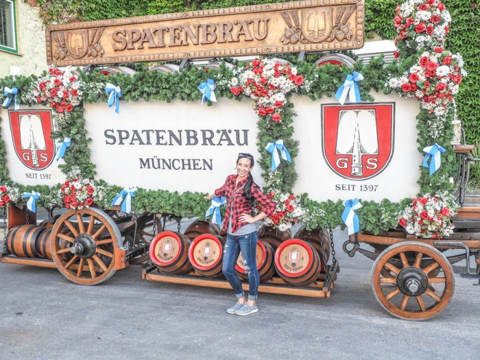 Oktoberfest party beer: What kind of beer to serve at your oktoberfest party | Spaten horse beer carriage