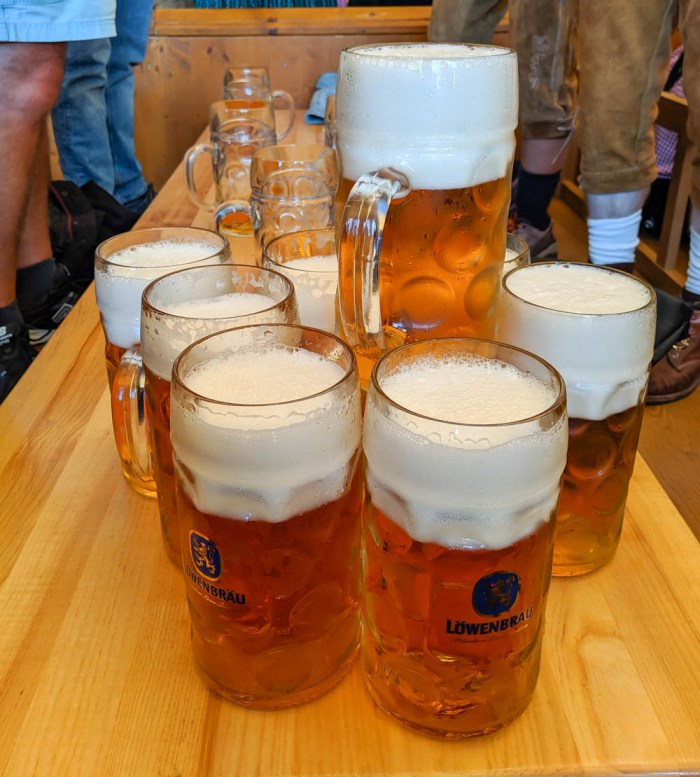 Oktoberfest party beer: What kind of beer to serve at your oktoberfest party | Lowenbrau beers in Munich, Germany