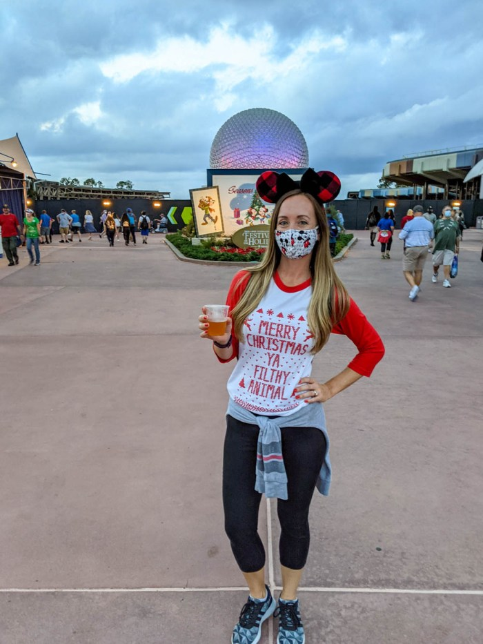 Visiting Disney World During the Pandemic: Everything You're Eager to Know | Disney World in 2020, what it's like to visit disney world right now. | Epcot Festival of the Holidays