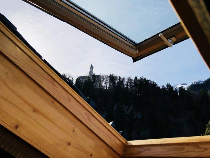 Schlossblick- Gemütliche Wohnung im Dachgeschoss Airbnb | Where to stay near Neuschwanstein Castle: 12 Best Hotels and Airbnbs in Hohenschwangau, Schwangau, and Füssen