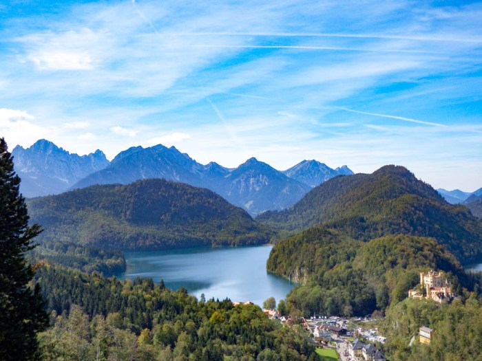 View from the back porch   10 Crucial Tips to Visit Neuschwanstein Castle Skillfully and Worry-Free   Tips for visiting Neuschwanstein Castle in Bavaria, Germany   Neuschwanstein Castle tour tickets