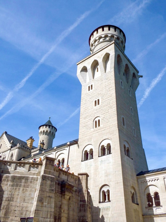 turret   10 Crucial Tips to Visit Neuschwanstein Castle Skillfully and Worry-Free   Tips for visiting Neuschwanstein Castle in Bavaria, Germany   Neuschwanstein Castle tour tickets