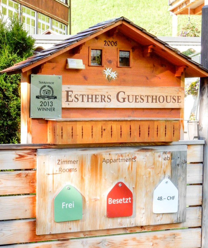 Esther's Guesthouse rooms | Where to stay in Gimmelwald, Switzerland: Mountain Hostels and B&Bs | Best places to stay in Gimmelwald