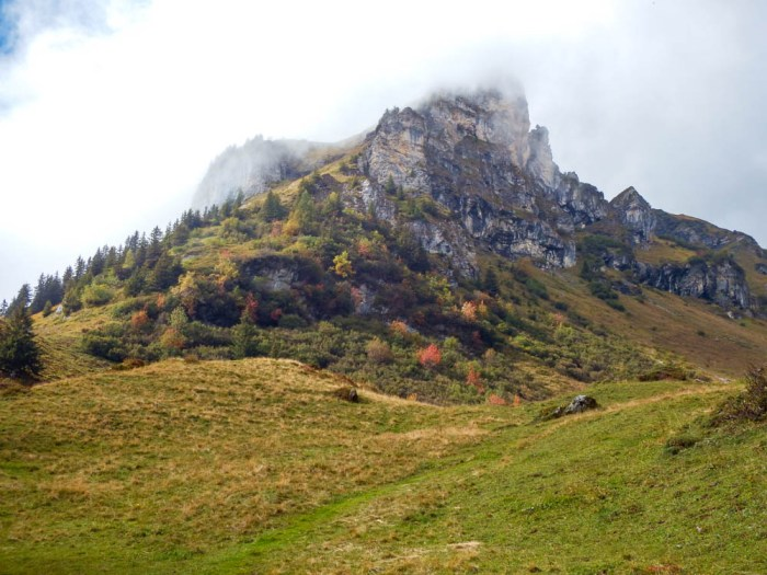 Climbing Brindli in the Swiss Alps | Where to stay in Gimmelwald, Switzerland: Mountain Hostels and B&Bs | Best places to stay in Gimmelwald